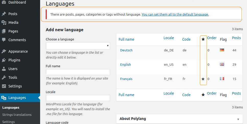 assign-default-language