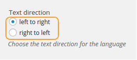 text-direction