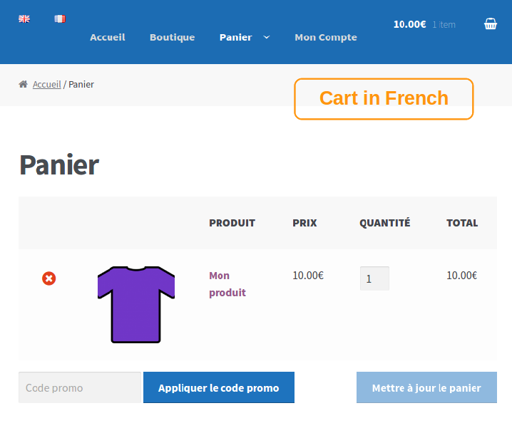 cart-in-french